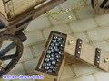 Деревянный масштаб военные игрушек оружия наполеон период наполеон + средняя платформа + боеприпасы вагон-роуд + трейлер деревянные масштабная модель