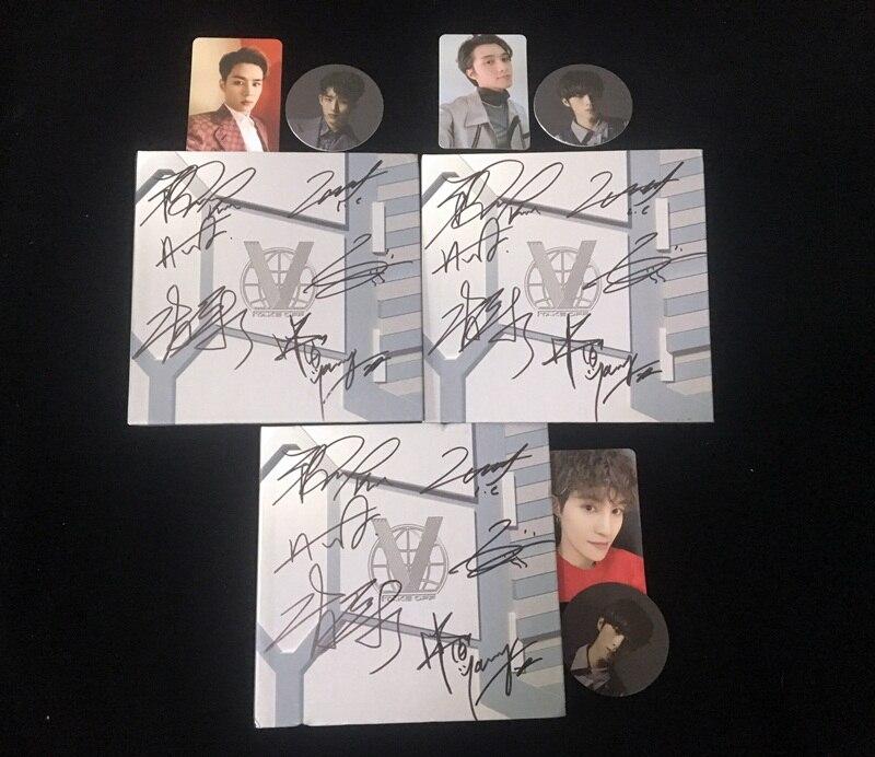 Hand ondertekend WayV gesigneerde 1st SOLO album Opstijgen K POP 062019-in Kaarten & Uitnodigingen van Huis & Tuin op  Groep 1