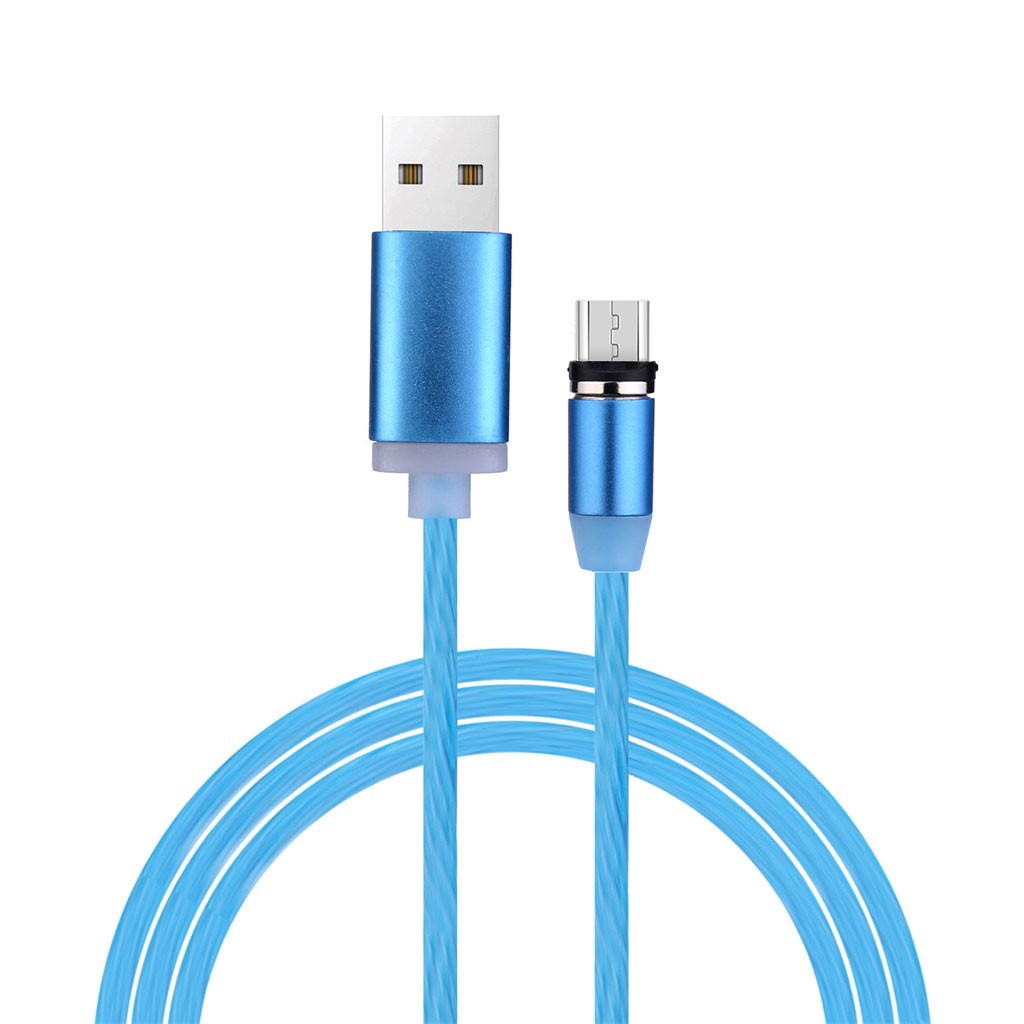 EPULA Micro USB Charging Cable With LED Flowing Light For Huawei Xiaomi CT