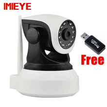 IMIEYE HD 720P IP Camera Wireless Wifi CCTV Night Vision P2P Webcam TF card PTZ Onvif IP Kamepa Wi-fi Security Surveillance Cam
