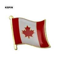 Kanada Flagge Revers pin Abzeichen Auf EINE Pin Brosche Schmuck Rozetten Papiers KS-0083