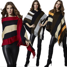 Spring and Autumn Fashion New Europe and America Large Size Women's Bat Sleeve Sweater