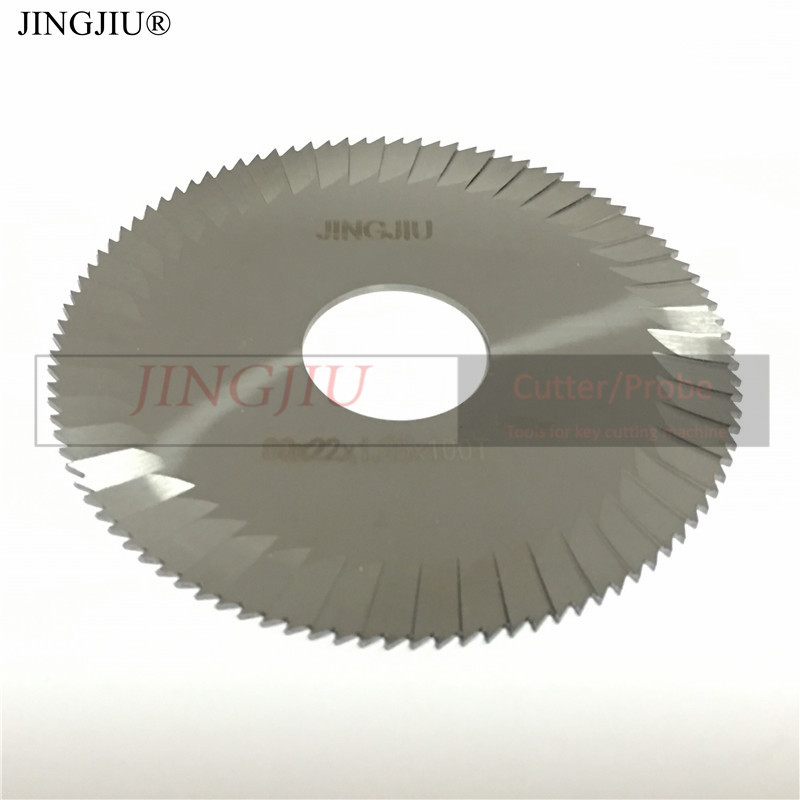 Side milling cutter 80mmx1 25mmx22mm 26 510 C00 in carbide for SILCA electrinic key cutting machine