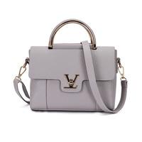 BANNINIU Flap V Women S Luxury Leather Black Clutch Bag Ladies Handbags Brand Women Messenger Bags