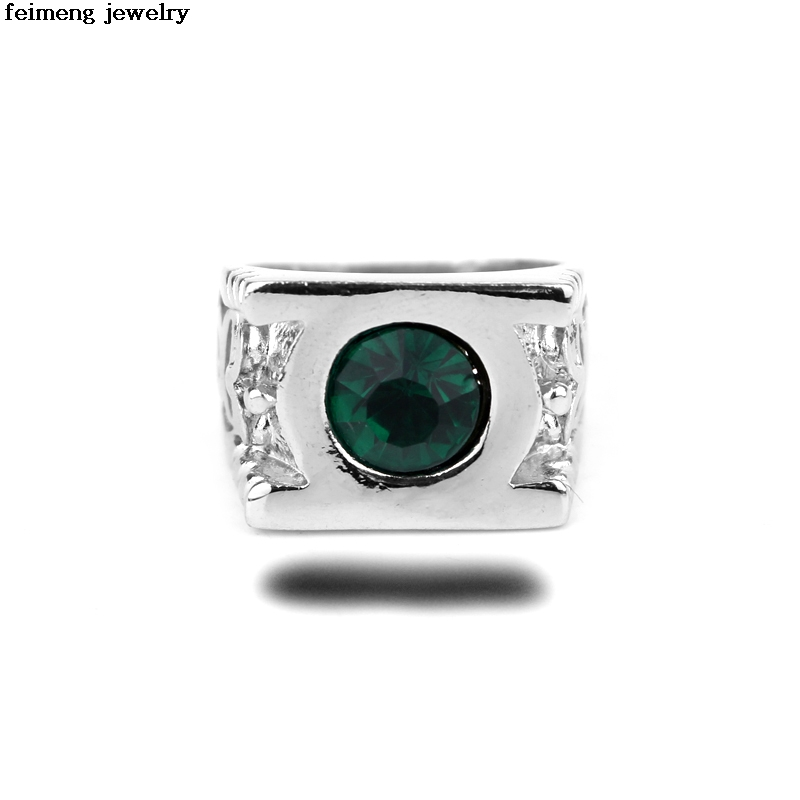 Free Delivery Green Lantern Ring Man Woman Metal High Quality Ring Fashion Jewelry Manuf ...