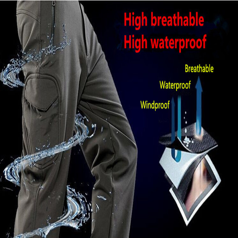 High Quality TAD Tactical Military Pants Windproof Keep Warm Combat Army Skiing Trousers Climbing Snowboarding Pants 11 Color