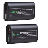 Tectra 2PCS 3500mAh DMW BLJ31 Battery for Panasonic LUMIX S1, S1R, S1H Mirrorless Cameras DMWBLJ31 Batteries