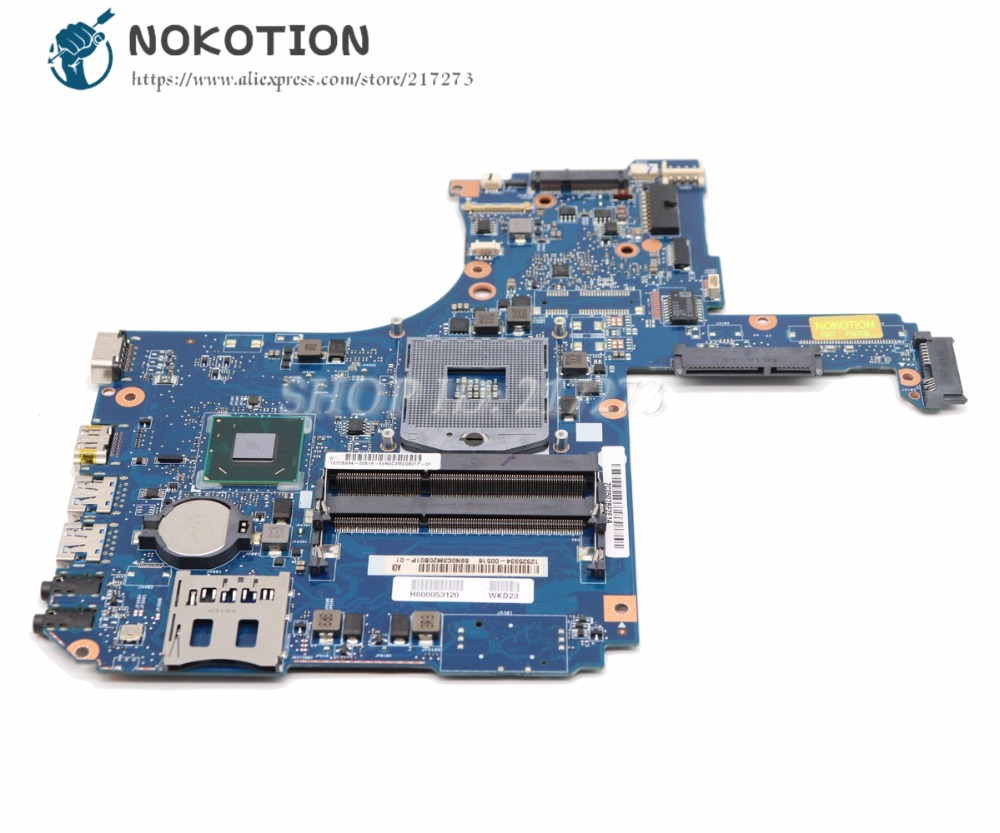 все цены на NOKOTION H000053120 For Toshiba Satellite L50 L50-A P50 Laptop Motherboard HD4000 HM70 DDR3 MAIN BOARD