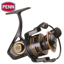 100% original penn clash cla 2000 8000 fiação carretel de pesca 8 + 1bb corpo de metal completo água salgada HT 100 baixo carpa roda fihsing