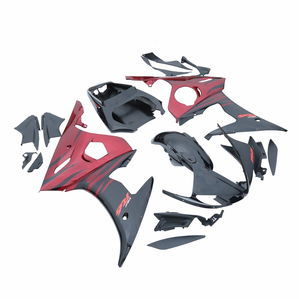 Injection Mold Bodywork Fairing Kit Fit For YAMAHA YZF R6 03-04 R6S 06-09 08 15B household product shell plastic injection mold