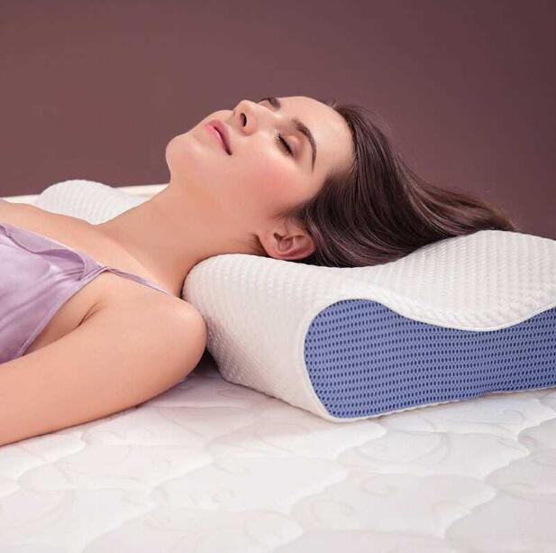 Dual use Memory Foam Pillow Cervical Protection Slow Rebound Bed Pillow Eyelash Extension Pillows for Sleeping