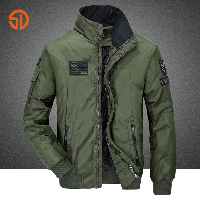 Men's jacket winter Outdoor Flight suit Bomber Motorcycle