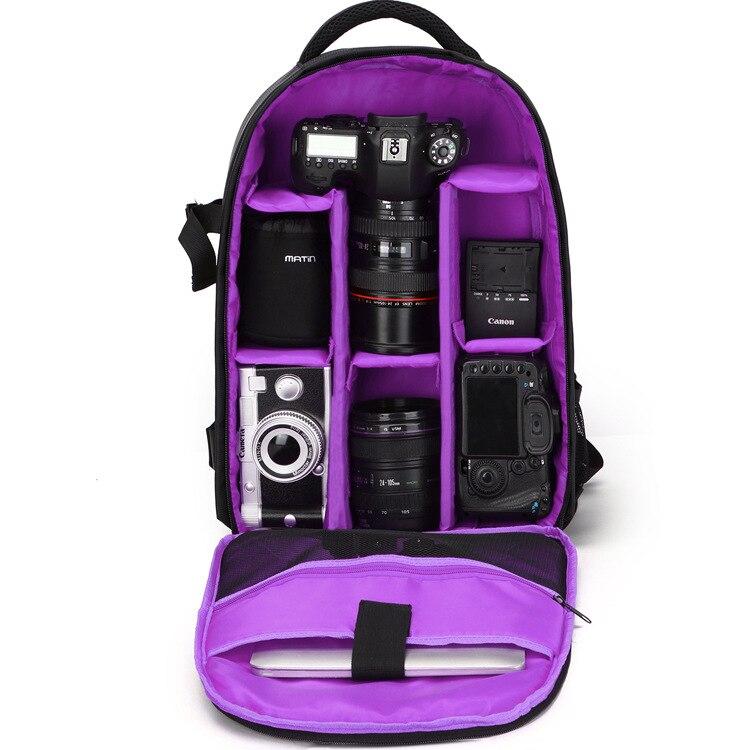 Upgrade font b Digital b font Camera Backpack Bag Multi functional DSLR Bags Waterproof Shockproof Video