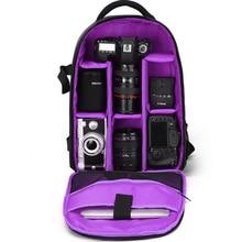 Sale Upgrade Digital Camera Backpack Bag Multi-functional DSLR Bags Waterproof Shockproof Video SLR Knapsack For Canon Sony Nikon