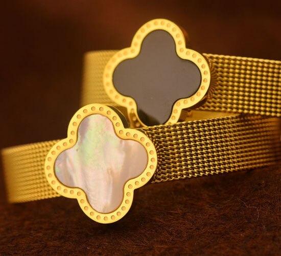 brand  316L stainless steel watch shape belt bracelet