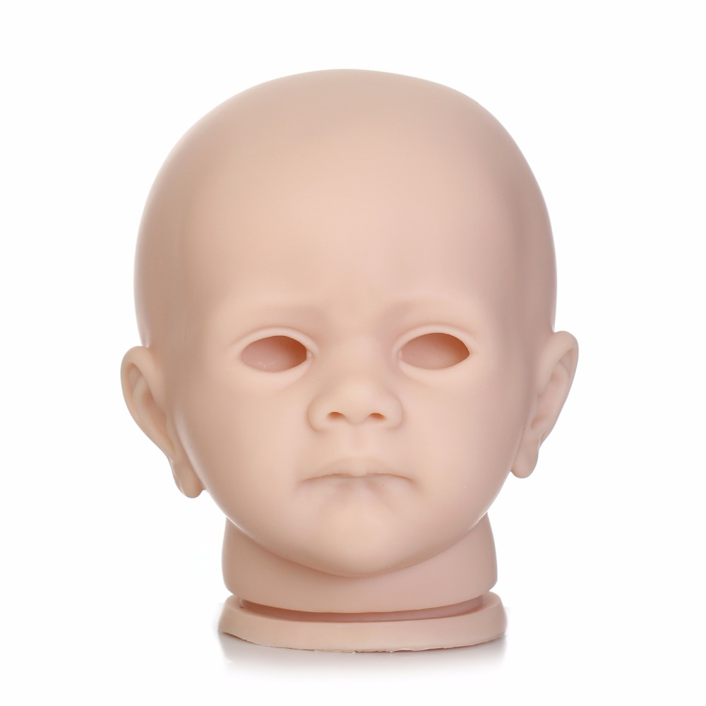 NPK новый дизайн 24 дюймов пустой реборн кукла комплект с хорошим качеством силиконовый винил, чтобы сделать реалистичный 60 см Reborn Baby Doll