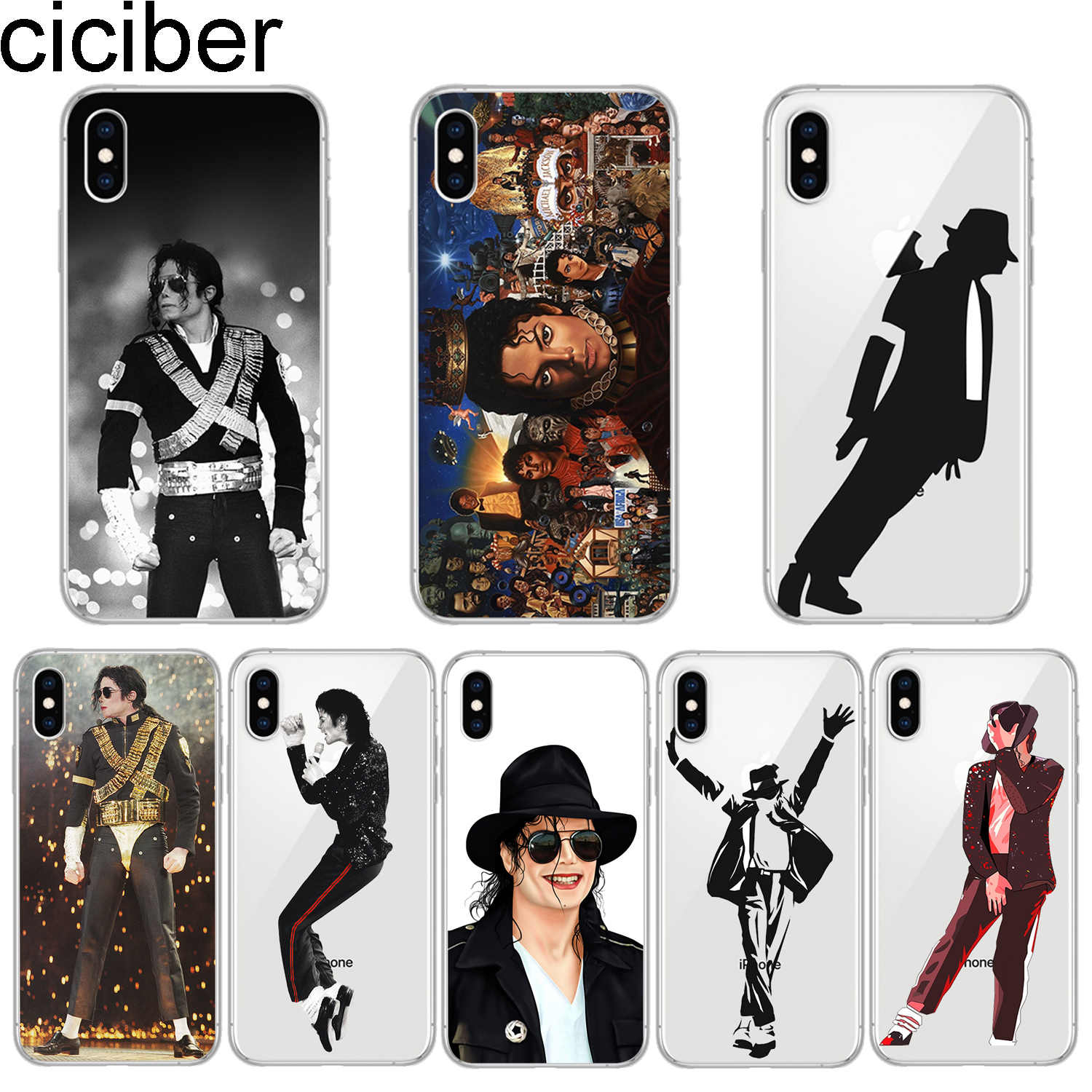 New Silicone Case For Coque IPhone X XS MAX XR IPhoneX Michael
