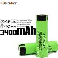 Kingwei 100 шт. оптовая продажа для Panasonic 3400 мАч 3.7 В высокого стока IMR 18650 батареи