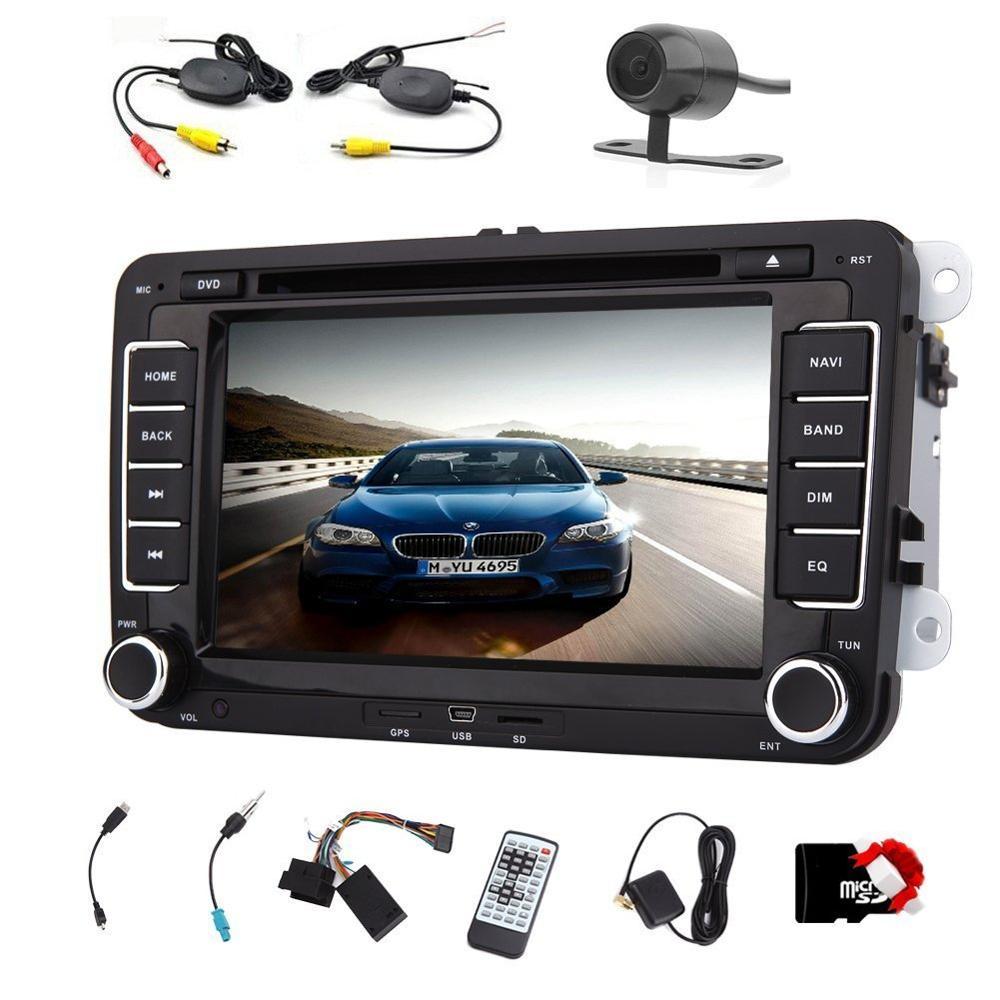 7 дюймов автомобиля GPS навигации DVD проигрывателя для Volkswagen 2 DIN 7 ''HD стерео плеер 2Din автомобиля электроника авторадио радио