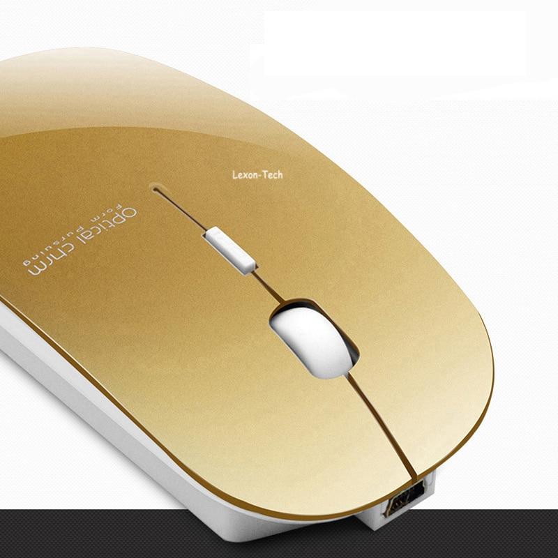 Boblen T8 2.4GHz simsiz şarj edilə bilən 2400DPI USB Optik - Kompüter periferikler - Fotoqrafiya 2