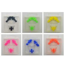 Silicone Swimming Nose Clip Earplug Watertight Set