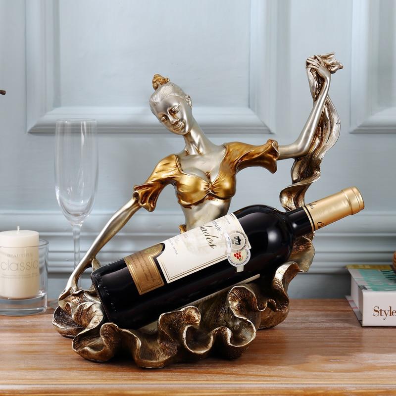Wine Rack Ornaments European Wine Rack Frame Wine Home Furnishing Wine Display Home Furnishing Living Room Decor