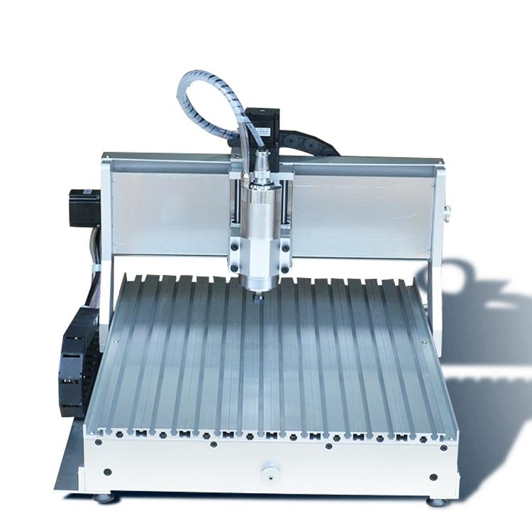 Mini 6040 incisore router CNC con 4 ° asse asse A, foratura / fresatura per incisione