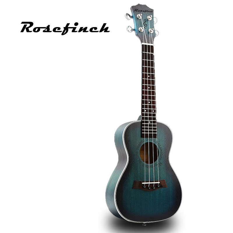 23 inch Aquamarine color Concert Ukulele 4 AQUILA Strings mini Hawaiian Guitar Uku Acoustic Guitar Ukelele mahogany Gift UK2329 23ukulele concert mini hawai guitar mahogany body fishing bone pattern electric ukelele with pickup eq uku gitara