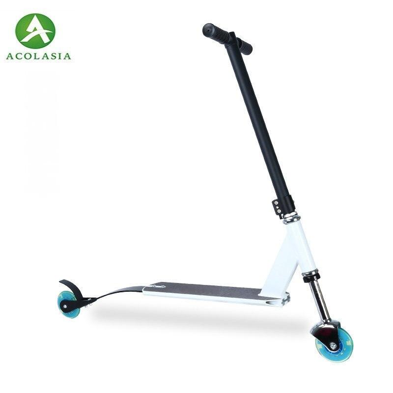 Cadre de Scooter de rebond avec l'alliage d'aluminium 100 Mm roue en polyuréthane Scooter adultes Adolescents Scooter léger extrême sautant 3Kg