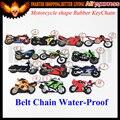 Modelo de la motocicleta de forma suave llavero de goma llavero clave para honda kawasaki suzuki yamaha bmw harley con logo
