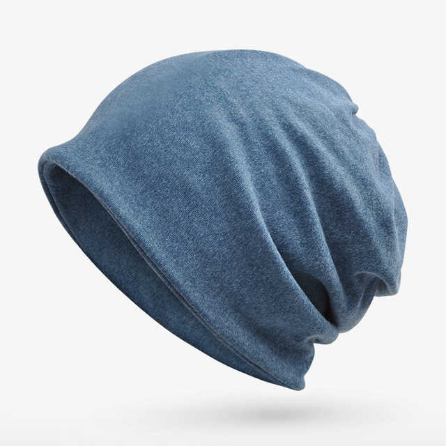 8bb4dedf0d8 BONJEAN New Women Warm Snow Winter Casual Beanies Multi-function Solid 18 Colors  Knit Hat Cap Men Hip Hop Casual Male Bonnet