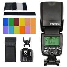 Godox TTL TT685O Kamerablitz Speedlite HSS 1/8000 s GN60 X1T-O 2,4G TTL Wireless Flash Trigger Transmitte für Olympus Panasonic