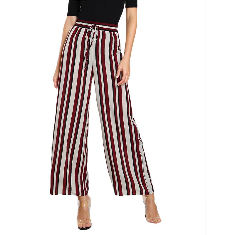 HTB1dFqESVXXXXaEXFXXq6xXFXXX7 - FREE SHIPPING Women Striped Pants Elastic Waist JKP103