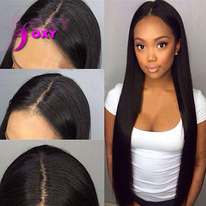Silky Straight 4x4 Silk Base Wigs Virgin Brazilian Human