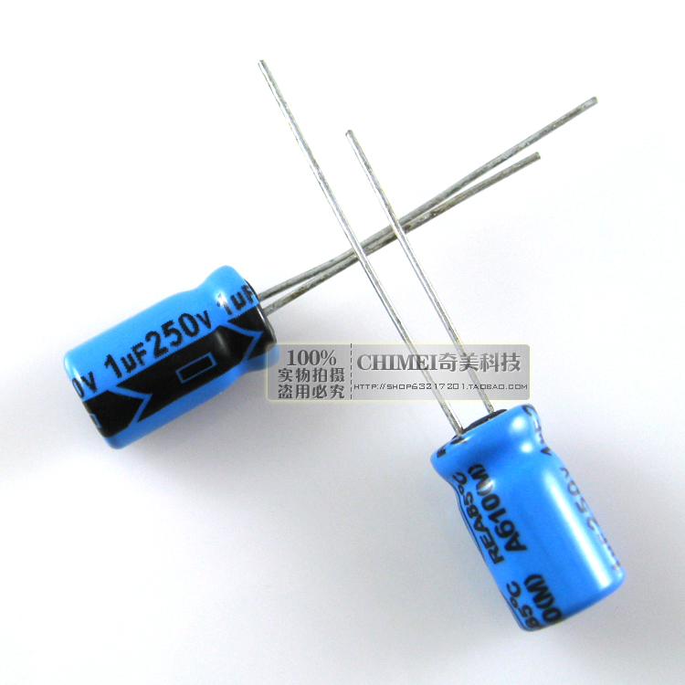 Electrolytic capacitor 250V 1UF capacitor