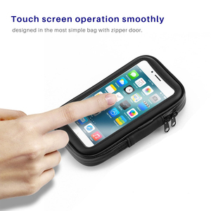 Image 3 - Untoom עמיד למים אופנוע אופנוע טלפון מחזיק טלפון סלולרי הר Bracket עבור סקוטר Rearview מירור Stand עבור iPhone Xiaomi