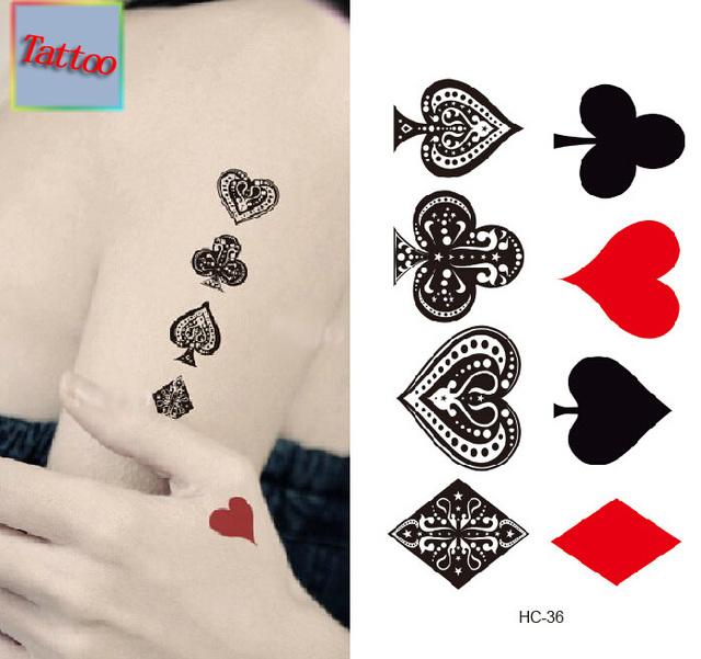 Temporary Tattoos Waterproof Tattoo Stickers Body Art Painting For