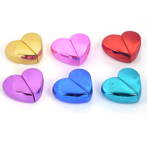 Image 3 - MUB   20ml Heart Shaped Spray Perfume Bottle Glass Airless Pump Woman Parfum Atomizer Travel Bottle Empty Cosmetic Containers