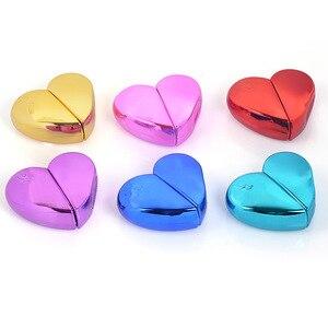 Image 3 - MUB flacon de Parfum en forme de cœur en verre avec pompe dair, atomiseur de Parfum pour femme, flacon vide, récipients cosmétiques, voyage 20ml