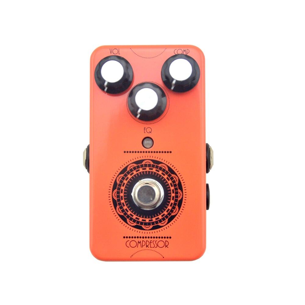 NEW Compressor Pedal Guitar Effect Pedal box True Bypass guitarra High Quality Guitar Parts Accessories