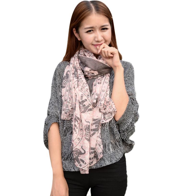 JECKSION bufandas mujer 2016 hot selling  Bali Yarn Gauze women scarves Dave #LYW