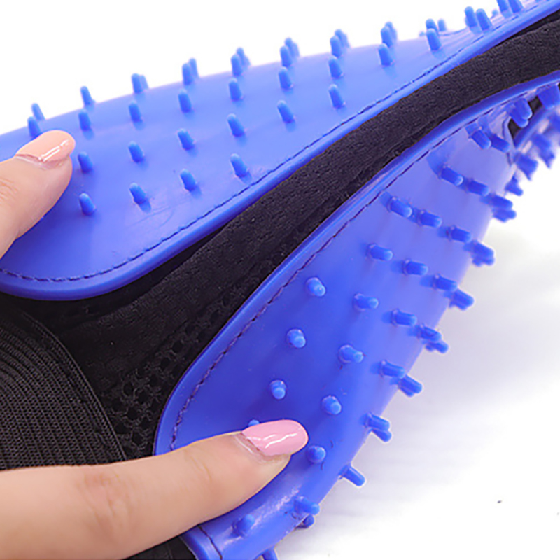 Image 5 - Pet Cleaning Kit Surprise Offer Pet Grooming Glove Hair Remover Brush Gentle Deshedding Pet Massage Gloves Perfect For Dogs Cats-in Dog Combs from Home & Garden