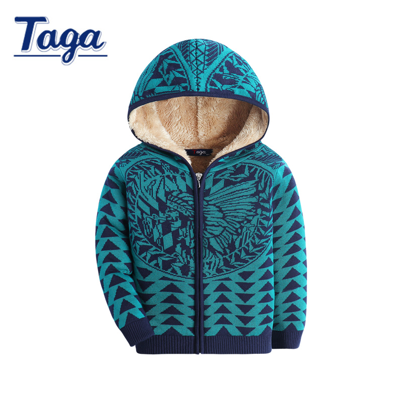 New 2017 Warm Thick Hooded Fashion Boys/Girls Winter Jacket Kids Outerwear Coats with Fleece baby boys clothes