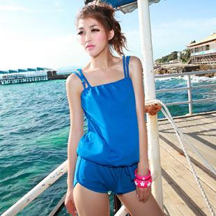 Free Shipping Water 2012 one piece set bikini small steel push up female swimwear swimming suit for women