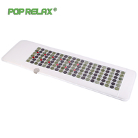 Pop Relax Korea Technology Health Mattress Magnet Fir Red Led Photon Light Therapy Jade Tourmaline Heating Massage Mat Mattress