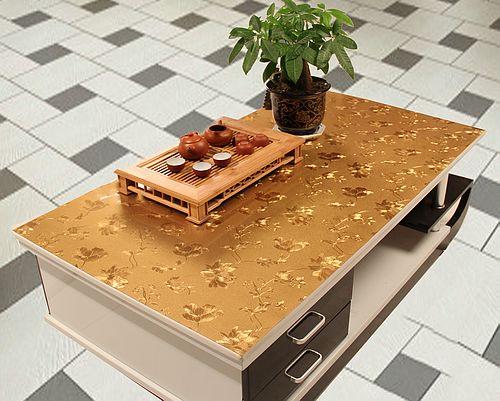 Nappe de table en verre souple | Rideau, plaque de cristal transparente, nappe de table, tapis de table, antidérapant, imperméable, jetable