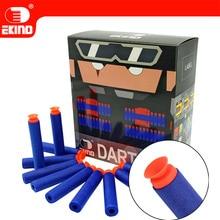цена на 100pcs Suction Darts Of EKIND 7.2cm Refill for Nerf Series Blasters Kid Toy Gun (Blue)