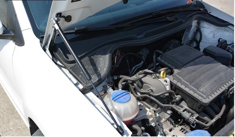 Передняя крышка капота двигателя, поддерживающий гидравлический стержень, пружинный упор, амортизатор, кронштейн для VW POLO MK5 2011
