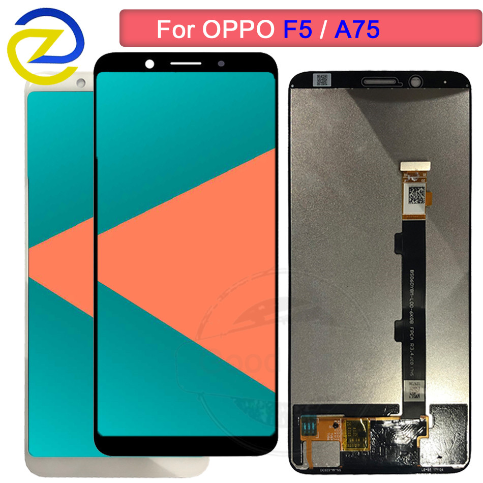 2160*1080 For <font><b>Oppo</b></font> <font><b>F5</b></font> Full LCD <font><b>DIsplay</b></font> Touch Screen Digitizer Assembly For OppoF5 CPH1727 CPH1723 A73 A73T A75 A75S replacement image