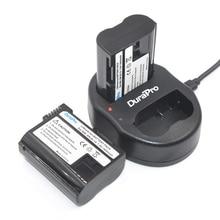 DuraPro 2Pcs EN-EL15 ENEL15 Battery +USB Twin Charger for Nikon D600 D610 D600E D800 D800E D810 D7000 D7100 D750 V1 MH-25